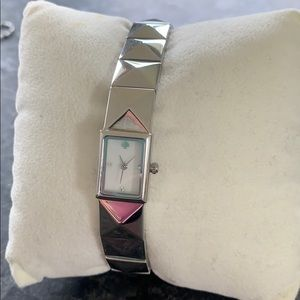 Kate Spade in a New York minute Silver watch